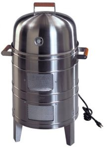 Americana Stainless Steel Electric Water Smoker for beginners